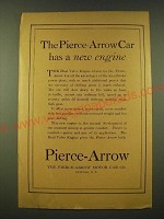 1918 Pierce-Arrow  Ad - The Pierce-Arrow Car has a new engine