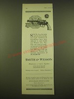 1924 Smith & Wesson Revolver Ad - Philadelphia Police Badge
