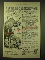 1924 Northern Pacific Railway Ad - The Pacific Northwest