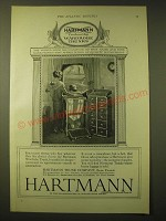1924 Hartmann Trunk Company Ad - Appreciation of Quality