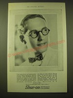 1924 Shur-On Optical Spectacles & Eyeglasses Ad - Good taste decrees