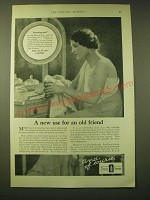1924 Lambert Pharmacal Company Listerine Ad - A new use for an old friend