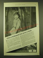 1924 Lambert Pharmacal Company Listerine Ad - Often a bridesmaid