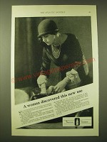 1924 Lambert Pharmacal Company Listerine Ad - A woman discovered this new use