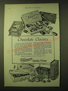 1924 Whitman's Chocolates Ad - Chocolate Classics