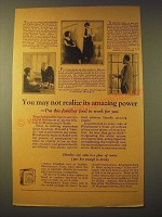 1924 Fleischmann's Yeast Ad - You may not realize its amazing power