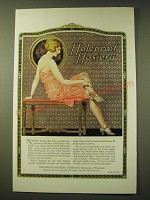1924 Holeproof Hosiery Ad - art by Ernest Brierly