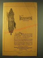 1924 Russwin Hardware Ad - Russwin Distinctive Hardware
