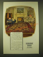 1924 Karnak Rugs Ad - Karnak rugs lend unusual distinction and charm to the home
