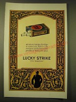1924 Lucky Strike Cigarettes Ad - 45 minutes' toasting develops