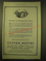 1924 General Motors Ad - Powder for Commodore Perry