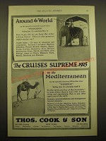 1924 Thos. Cook & Son Cruise Ad - Around the world
