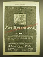 1924 Thos. Cook & Son Cruise Ad - Cruises Supreme 1925 to the Mediterranean