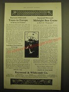 1924 Raymond & Whitcomb Co. Ad - Raymond-Whitcomb tours to Europe in spring