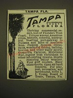 1924 Tampa Florida Ad - Tampa Florida Hillsborough County