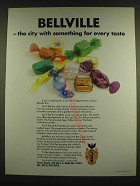 1990 Bellville South Africa Ad - Bellville - the city with something