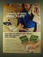 1990 Pine-Sol Spruce-Ups Ad - Spuce up with Spruce-Ups New Pine-Sol Spruce-Ups
