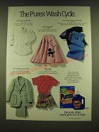 1990 Purex Detergent Ad - The Purex Wash Cycle