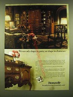 1990 Thomasville fisher Park Collection Furniture Ad