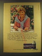 1990 Bufferin Medicine Ad - Angela Lansbury - Today we all lead active lives