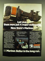 1978 Mariner Outboard Motors Ad - Last year there were just 4 major outboards.