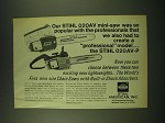 1973 Stihl 020AV and 020AV-P Chain Saw Ad