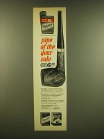 1966 Edgeworth Pipe Tobacco Ad - Pipe of the year sale