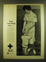 1966 Red Cross Ad - You can help too