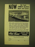 1966 Old Town Boats and Canoes Ad