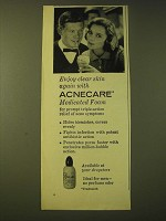 1959 Acnecare Medicated Foam Ad - Enjoy clear skin again with Agnecare
