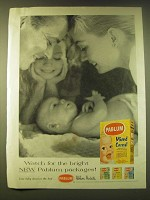 1956 Pablum Mixed Cereal Ad - Watch for the bright new Pablum packages