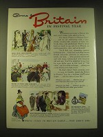 1951 Britain Tourism Ad - Come to Britain in Festival year