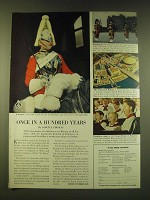 1951 Britain Tourism Ad - Once in a Hundred Years