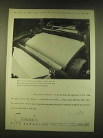 1951 Crane's Fine Papers Ad - the 150th year of making Crane's Fine Paper