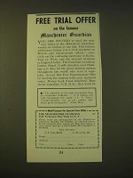 1951 The Manchester Guardian Ad - trial offer