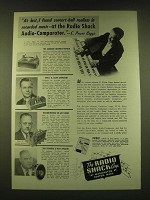 1950 The Radio Shack Ad - At last, I found concert-hall realism