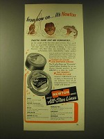 1949 Newton Fishing Line Ad - From now on… it's Newton