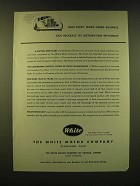1947 White Motor Company Ad - How every truck-using business can increase
