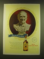 1947 Old Grand-Dad bourbon Ad - Head of family