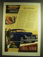 1939 Nash cars Ad - Some Sweet Day