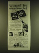 1939 Vicks VapoRub Ad - How wonderful - if this happened in your family