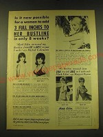 1969 Mark Eden Developer and Bustline Contouring Course Ad - Is it now possible