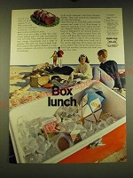 1967 Ex-cell-o Pure-Pak Cartons Ad - Box Lunch