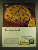1966 Kraft American Slices Ad - lunch for a bunch