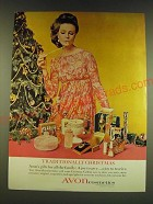 1966 Avon Cosmetics Ad - Traditionally Christmas