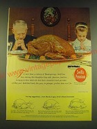1966 Swift's Premium Butterball Turkey Ad - For more than a century