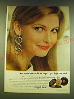 1966 Angel Face Makeup Ad - You don't have to be an angel Just look like one!