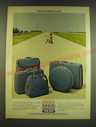 1966 American Tourister Luggage Ad - So you're going by road
