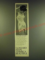 1966 Gossard Answerette Combination Girdle Ad - Answerette in Lycra