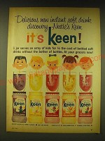 1964 Nestle's Keen Drink Ad - Delicious new instant soft drink discovery